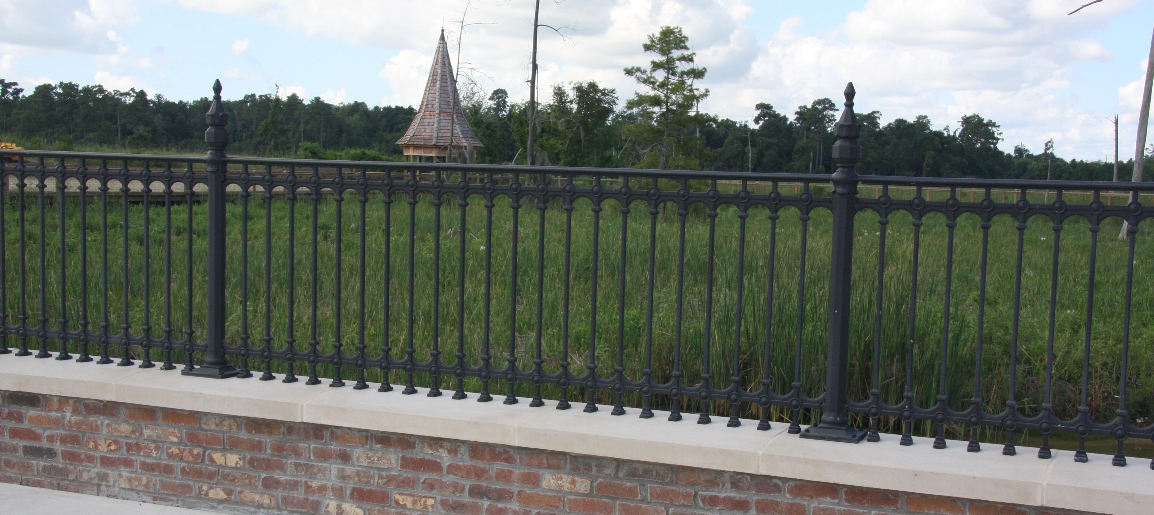 Walnut grove 36 inch tall balcony railing 102 78 linear ft