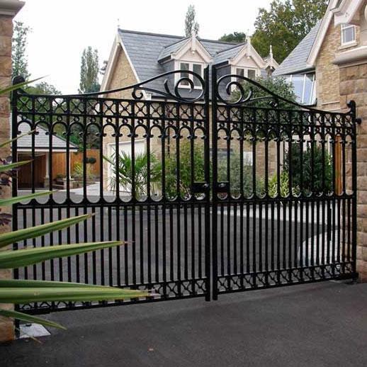 Decorative Cast Iron Driveway Gates