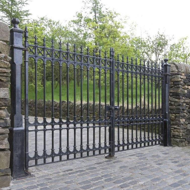 Terrific Cast Iron Railings Gates And Fencing Largest Home Design Picture Inspirations Pitcheantrous
