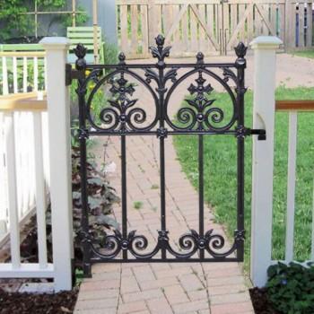 Terrace Garden Gate Heritage Cast Iron Usa