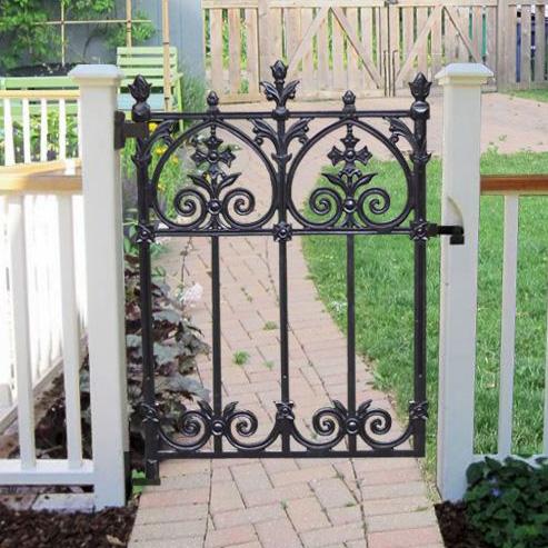 Terrace garden gate heritage cast iron usa for 11182 gates terrace