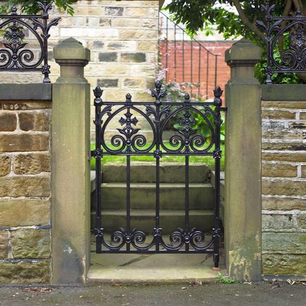 Wrought Iron Garden Gates Garden Ftempo