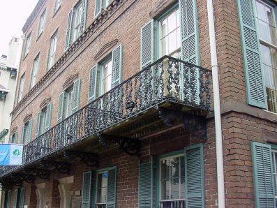 Cast Iron Balcony Savannah