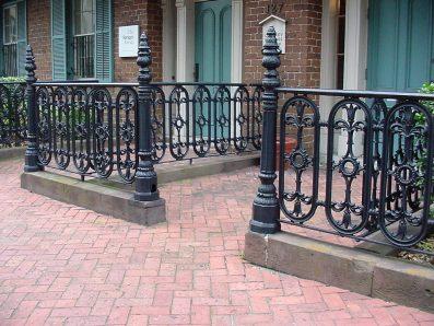 Cast Iron Fencing Savannah